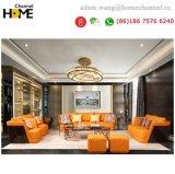 2018 estilo italiano sofá de couro para sala de estar em casa (HC801)