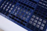Tamanho do euro 80X120cm da superfície de malha de paletes de plástico
