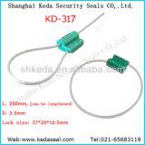 Câble de 2,5 mm conteneur Sceaux de sécurité du chariot de joint de câble (DK-317)