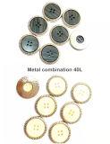 Vestuário de moda de elevada qualidade, ligas de metais Botões de combinação de metal combinação de resina Botões, acessórios de moda, usado para acessórios de vestuário