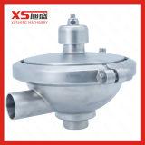 SS304 SS316L en acier inoxydable de régler la soupape de pression de soudage sanitaires