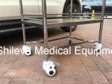 カートのトロリーに服を着せる薬物のステンレス鋼のトロリー病院