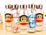 Kundenspezifische Wasser-Flaschenglas-Flasche des Firmenzeichen-300ml