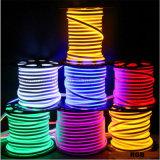 16мм розовый круглый светодиодный индикатор 360 градусов LED Neon Flex
