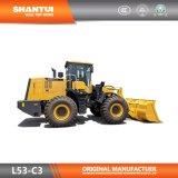 Официальные Shantui производитель 5 тонн передний конец гидравлического ковша колесный погрузчик L53-C3