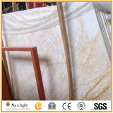壁および床タイルのための普及した金くものベージュ大理石