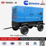 100 kVA en silencio Mobile Trailer Generador Diesel para la venta