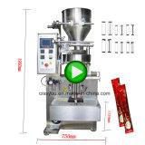 L'écrou automatique de café Sel Sucre en poudre Sachet Pochette d'emballage d'emballage de la machine de remplissage