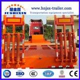 Welle China-Fabrik-der schweren Baugerät-2 25 Tonneabnehmbarer Gooseneck Lowbed halb Schlussteil