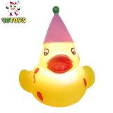 Activa el LED parpadea baño de agua de juguete con forma de animales