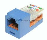 Panduit MiniCat5e modularer Jack, Blau (CJ5E88TGBU)