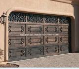 De mooie Vervaardigde Deur van het Ijzer van de Garage voor de Bouw Hous