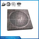 Quadratische duktile Eisen-/Sand-verschließbare Einsteigeloch-Deckel für Sturm-Abfluss