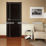 Eco-Friendly Waterproof WPC Intérieur PVC Laminated Door (KM-01)