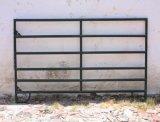 직류 전기를 통한 강철 6 관 가축 가축 우리 담