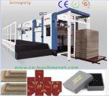 Ondulés automatiques de découpage automatiques de boîte-cadeau dure de carton de machine d'usine d'emballage meurent 1300ts