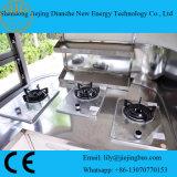 El color de la banda eléctrica Cocina Mini camiones con equipos de cocina