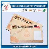 Plastique PVC carte IC Contactness