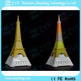 虹LEDエッフェル塔のBluetoothのスピーカー(ZYF3087)