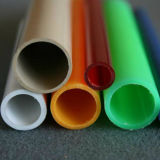 플라스틱 배관공사를 위한 PVC 관에 의하여 착색되는 단단한 관