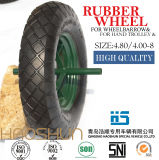 Pneumatic Wheelbarrow Barrow Rubber Wheel Tire Outils à main 4.80 / 4.00-8
