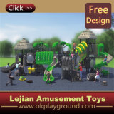 Fantastique Terrain de jeux de l'équipement d'amusement en plastique pour l'école (X1430-1)