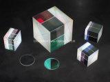 Prisma equilatero di vetro Polished ottico
