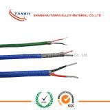 Fil à haute température Câble d'extension de thermocouple à fil isolé en fibre de verre à haute silice type K (KPX KNX)