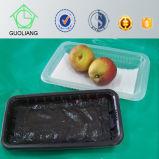 スーパーマーケットの表示スタック可能果物と野菜のプラスチックパッキング皿