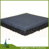 10mm-50mmの体操のための耐震性のゴム製床タイル