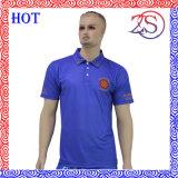Trockene Sitz-Großhandelsmänner sublimierten Polo-Golf-Hemden