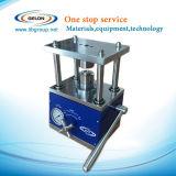 Cr2032 동전 압박 작은 세포 주름을 잡는 기계