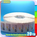 Etiqueta adesiva de papel da identificação NFC de RFID NTAG203