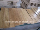15 18 millimètres Smoked Oak Hardwood Parquet Engineered Wood Flooring