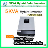 de ZonneOmschakelaar van de Macht van de Golf van de Sinus van de Omschakelaar van het Controlemechanisme 5kVA/4000W PWM Hybride Zuivere (qW-5kVA4850)