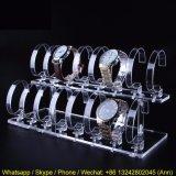 Crémaillère d'étalage acrylique de vente chaude de montre
