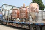 Rotes kupfernes Becken verwendetes Brauerei-Gerät für Verkauf
