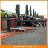 elevatore automatico verticale idraulico di parcheggio dell'alberino dell'impilatore due dell'automobile 2300kg