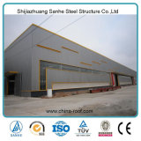 전 설계된 산업 헛간 디자인 Prefabricated 건물 큰 강철 구조물 창고