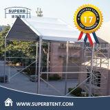 Grande tente claire de fantaisie attrayante de mariage d'usager de toit