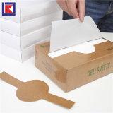 상자에 있는 백색 HDPE 음식 급료 Intrfolded 살갈퀴 가늠자 장