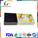 Boîte en papier plieuse imprimée pliée