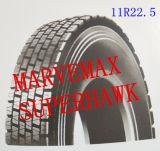 11r22.5 Superhawk Marken-gute Qualitätsniedriger Preis-schlauchloser Gummireifen