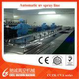 Produção de metalização UV Machine/UV do vácuo cosmético que cura a linha
