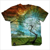 Impressão por sublimação de moda T-shirt para homens (M282)