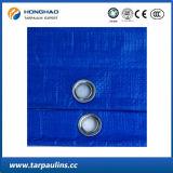 Bâche de protection traitée aux UV de PE d'User-Résistance de couleur bleue pour la couverture de syndicat de prix ferme