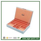 Оптовая изготовленный на заказ коробка Jewellery упаковки для сбывания
