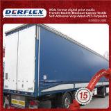 Tela incatramata del PVC per il coperchio 1300X1300d, 15X15, 600g del camion