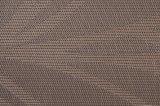 PVC antiderrapagem Placemat da isolação do Weave do jacquard para o Tabletop & o revestimento