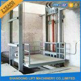油圧チェーンガイド・レールの貨物エレベーター